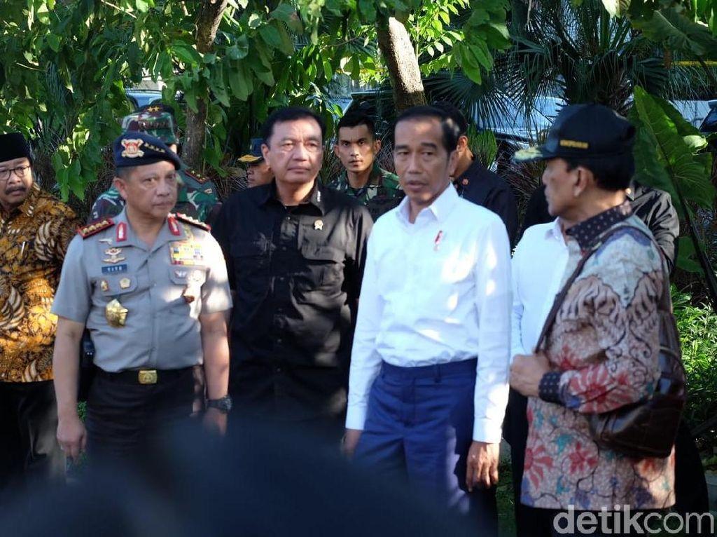 Cerita Jokowi Lihat Jasad Bocah Bersabuk Bom di Gereja Surabaya