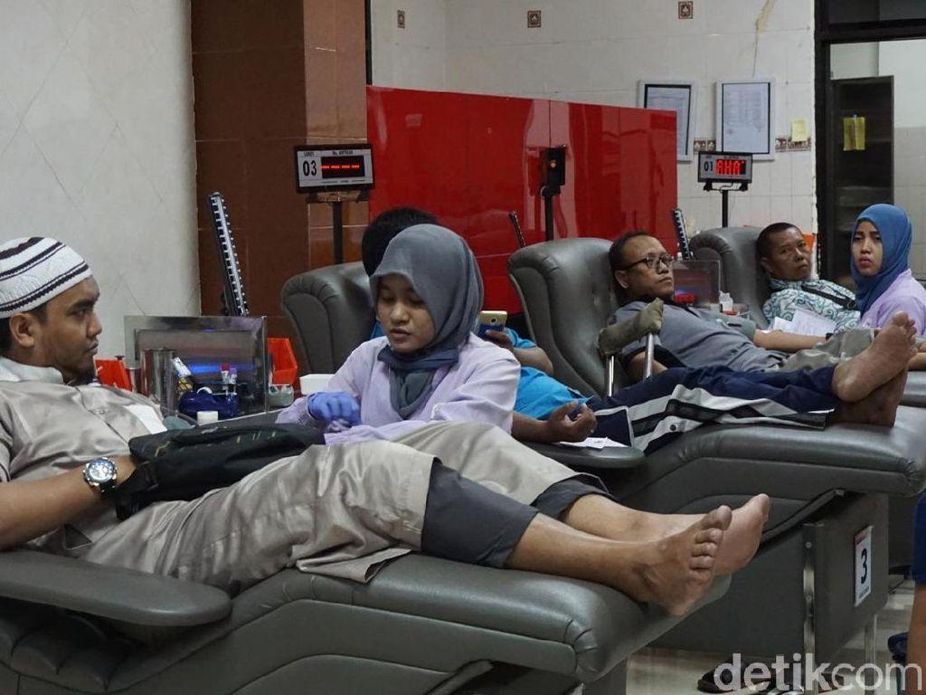 Kata Menkes Soal Kebutuhan Stok Darah Pasca Teror Bom Surabaya