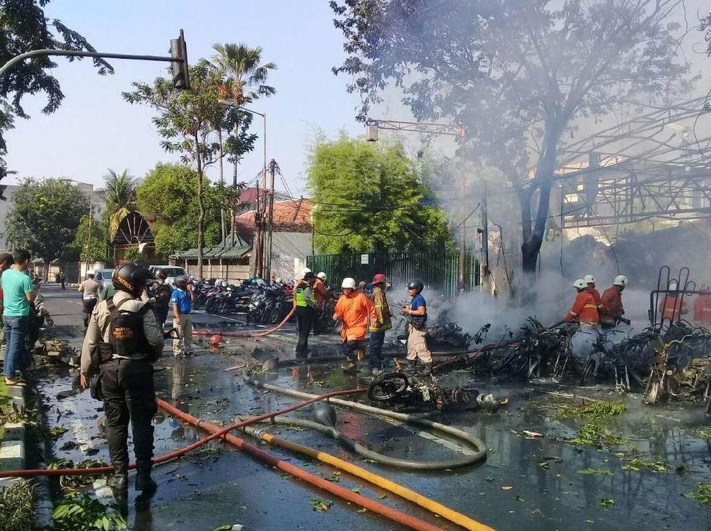 Kepsek yang Diduga Sebar Hoax Bom Surabaya Dibidik Pasal Berlapis
