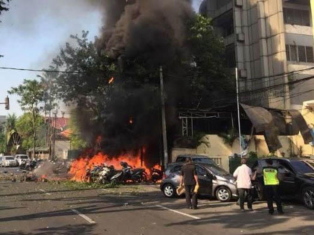 18 Hari Dirawat, Satu Korban Bom Gereja di Surabaya Meninggal