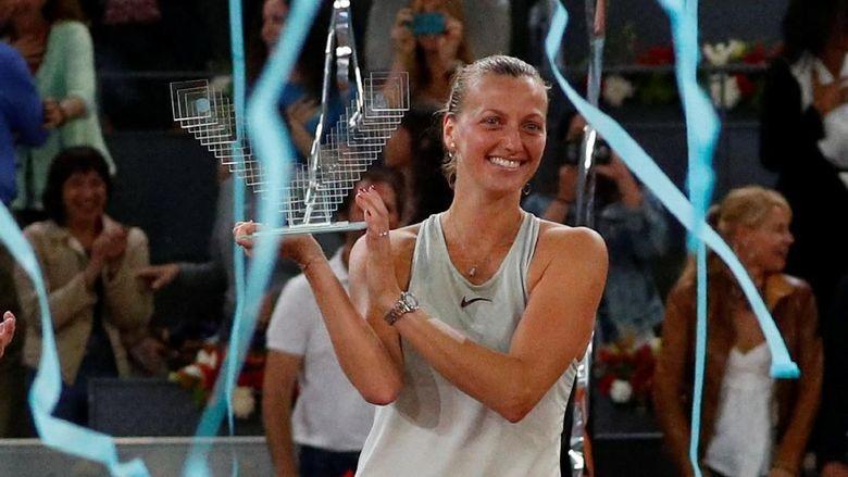 Kvitova Juara Usai Tarung Tiga Set Lawan Bertens