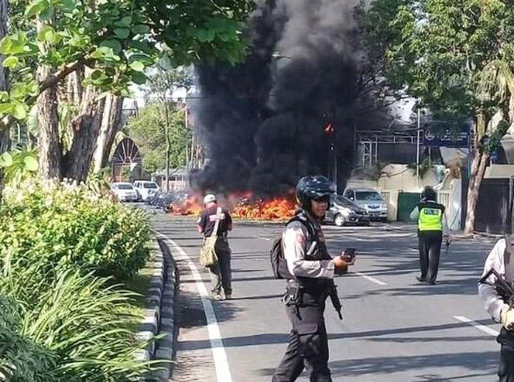 Jejak Kepsek Penyebar Hoax Bom Surabaya hingga Jadi Tersangka
