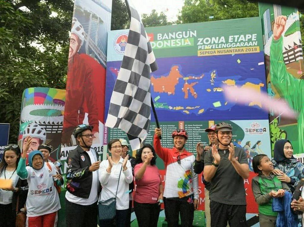 Sepeda Nusantara 2018 Digelar, 5.232 Pegowes Ikut Serta