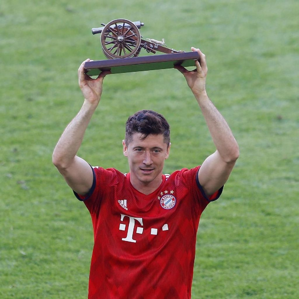 Agen: Lewandowski Ingin Tinggalkan Bayern