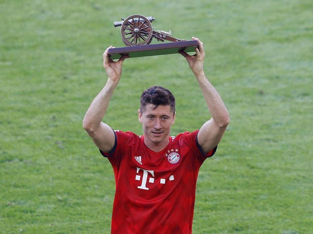 Tiga Kali Jadi Top Skorer Bundesliga, Lewandowski Ukir Sejarah