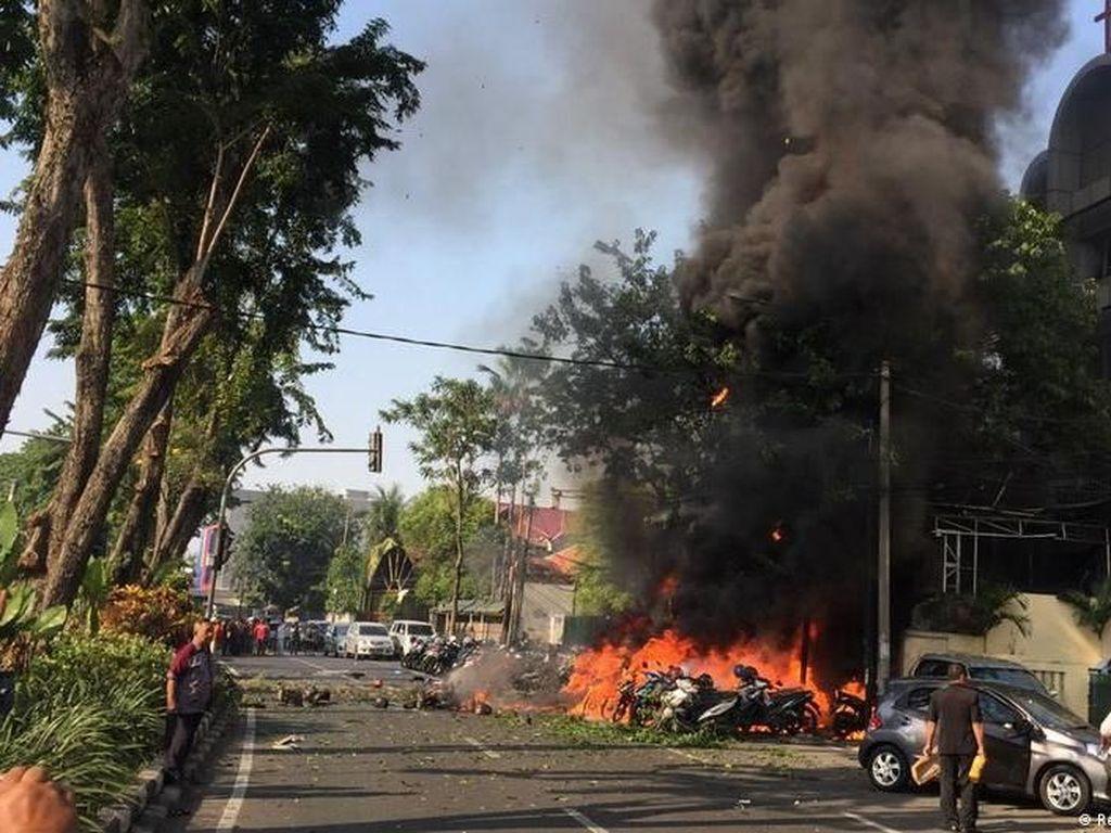 Dunia Internasional Turut Berduka Atas Aksi Bom di Surabaya