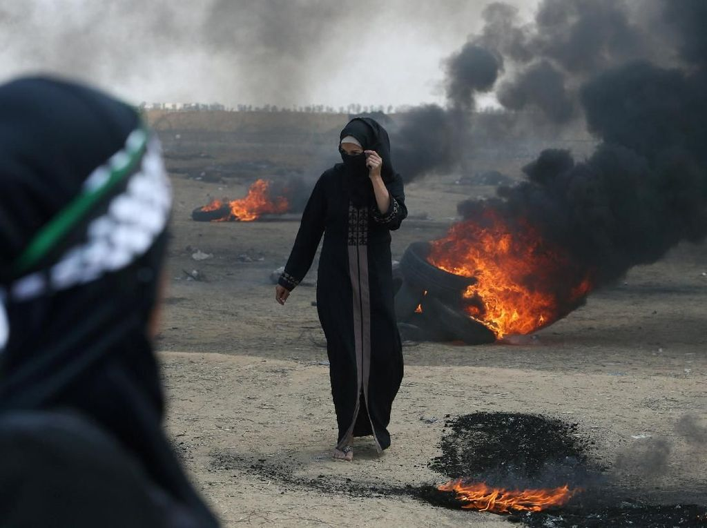 37 Warga Palestina Dibantai Jelang Kedubes AS Dibuka di Yerusalem