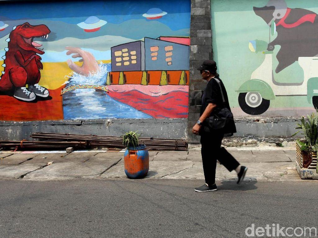 Mural Percantik Tembok-tembok di Cikini