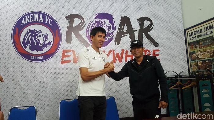 Joko Susilo (kanan) (Mohammad Aminudin/detikSport)