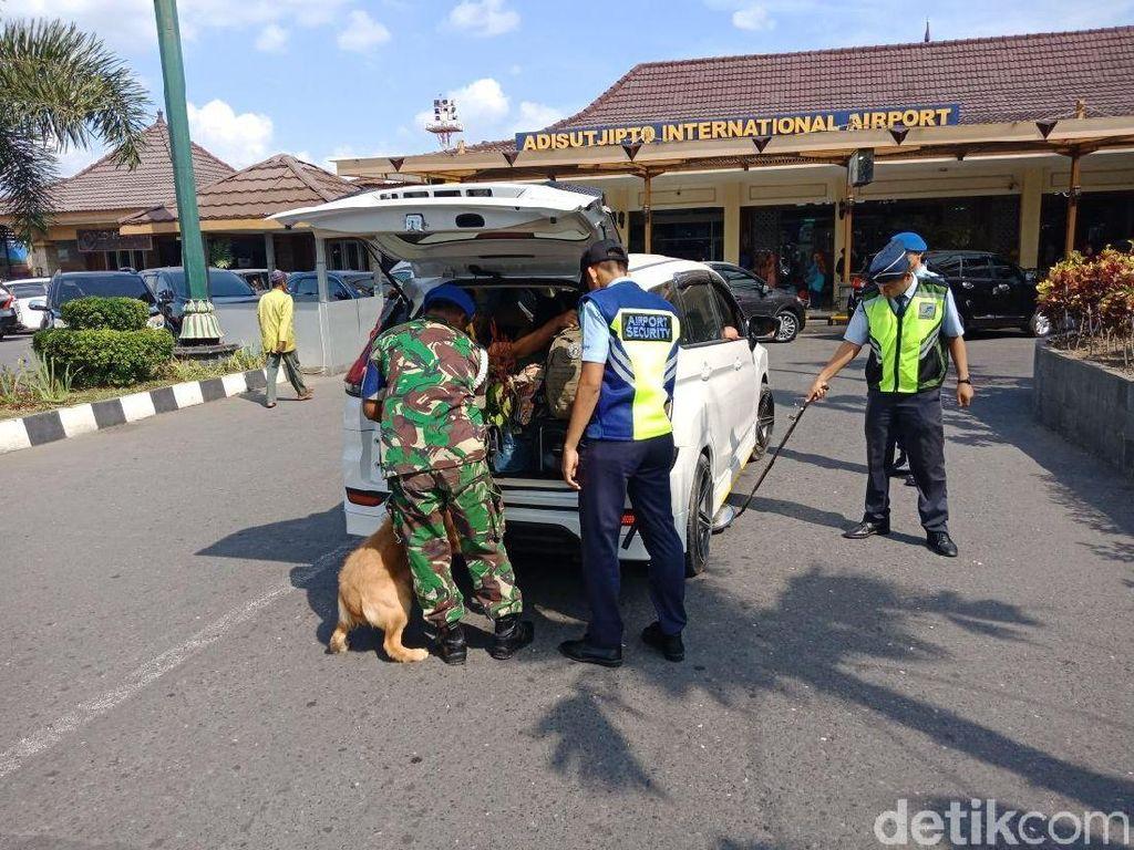 Pengamanan Berlapis di Bandara Adisutjipto Libatkan Paskhas TNI AU