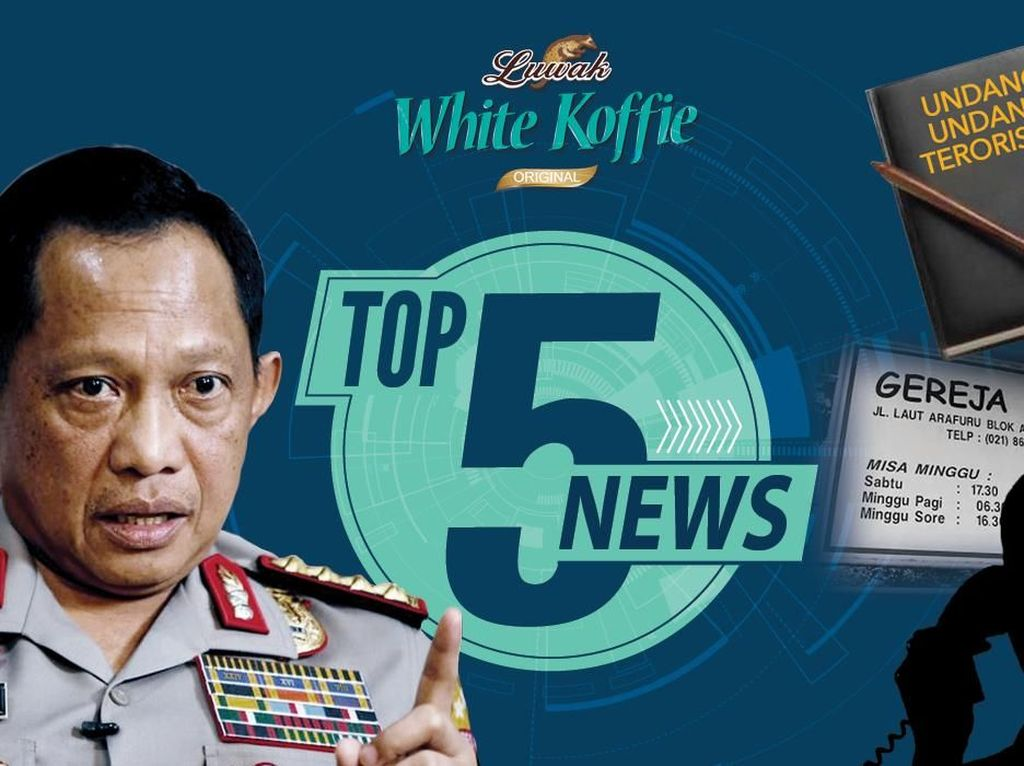 Kapolri Ungkap Motif Bom Surabaya, Serangan Teroris Duren Sawit Hoax