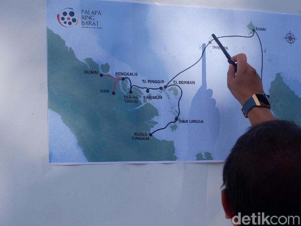 Demi Palapa Ring, Indonesia Rebutan Kapal dengan Negara Lain