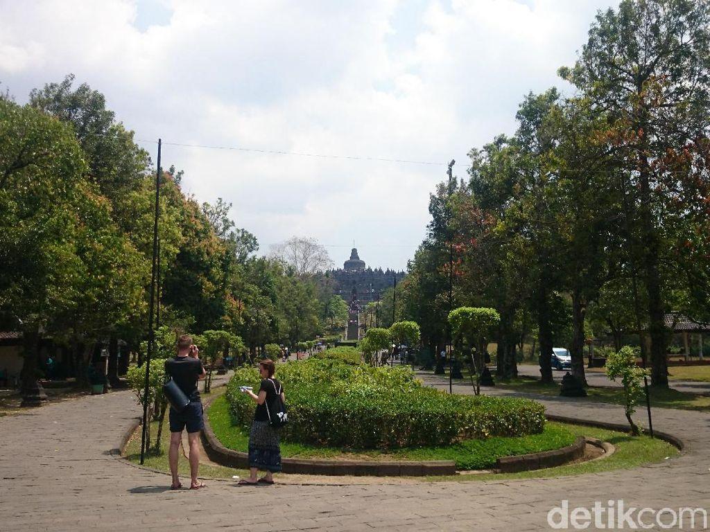 Bom Surabaya Tak Berdampak Pada Kunjungan Candi Borobudur