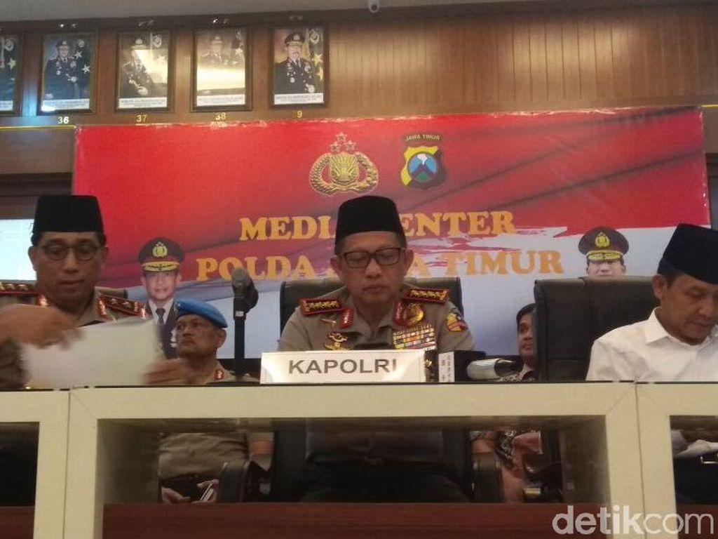 Kapolri: Saya Sangat Setuju TNI Dilibatkan Tangani Terorisme