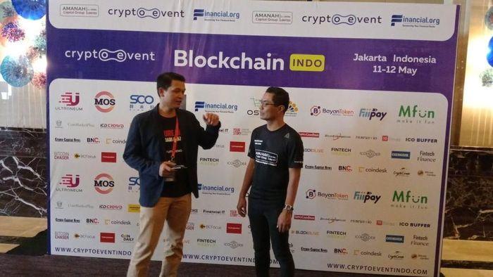 Foto: Blockchain Indo 2018