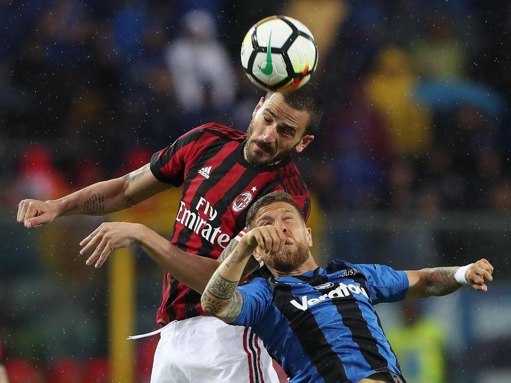Seri dengan Atalanta, Milan Kunci Tiket ke Eropa