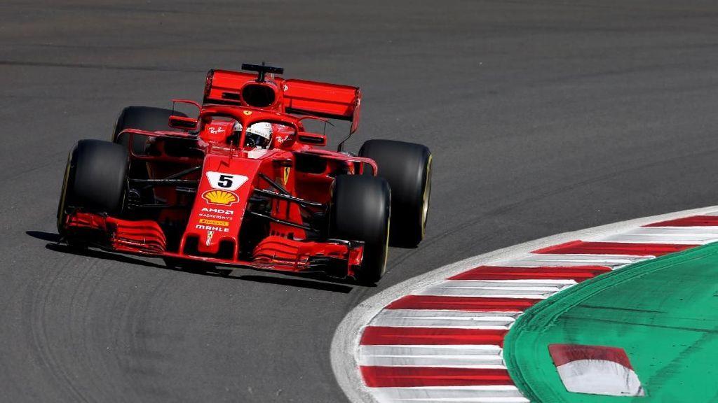 Dua Kali Masuk Pit, Vettel Ada Masalah Apa?
