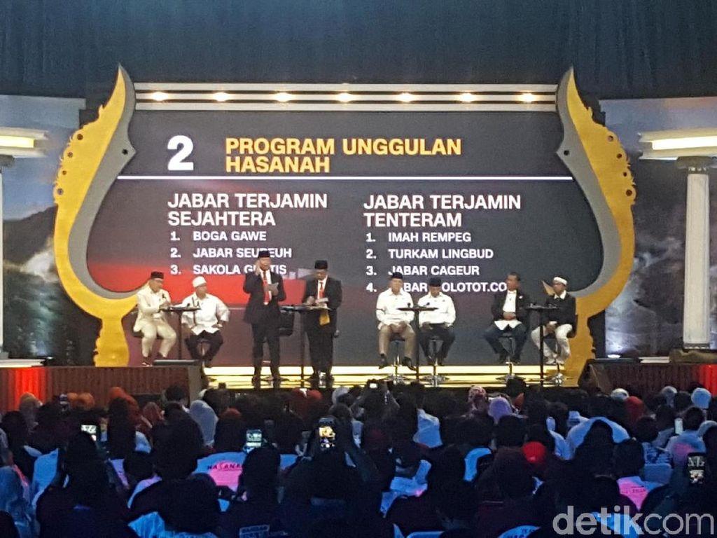 Dalih Ridwan Kamil Saat Dicecar Syaikhu Soal Banjir di Bandung