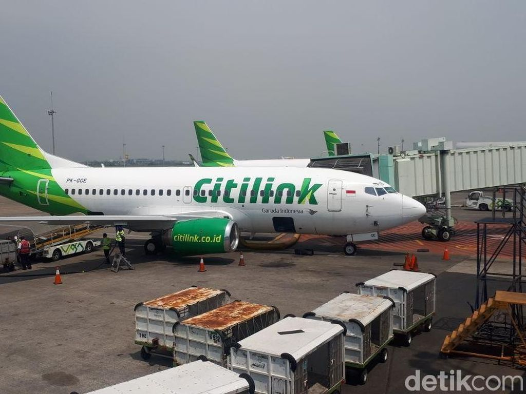 Giliran Citilink Setop Penerbangan ke China