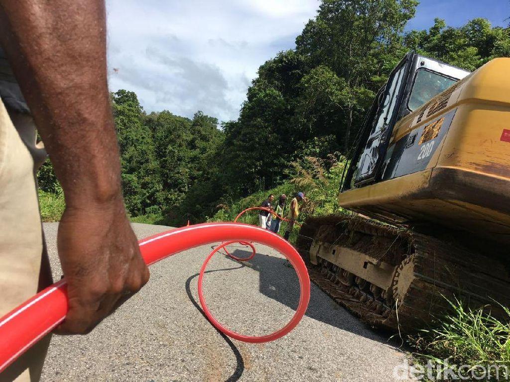 Sulitnya Bangun Internet di Papua, Dikawal TNI Seperti Mau Perang