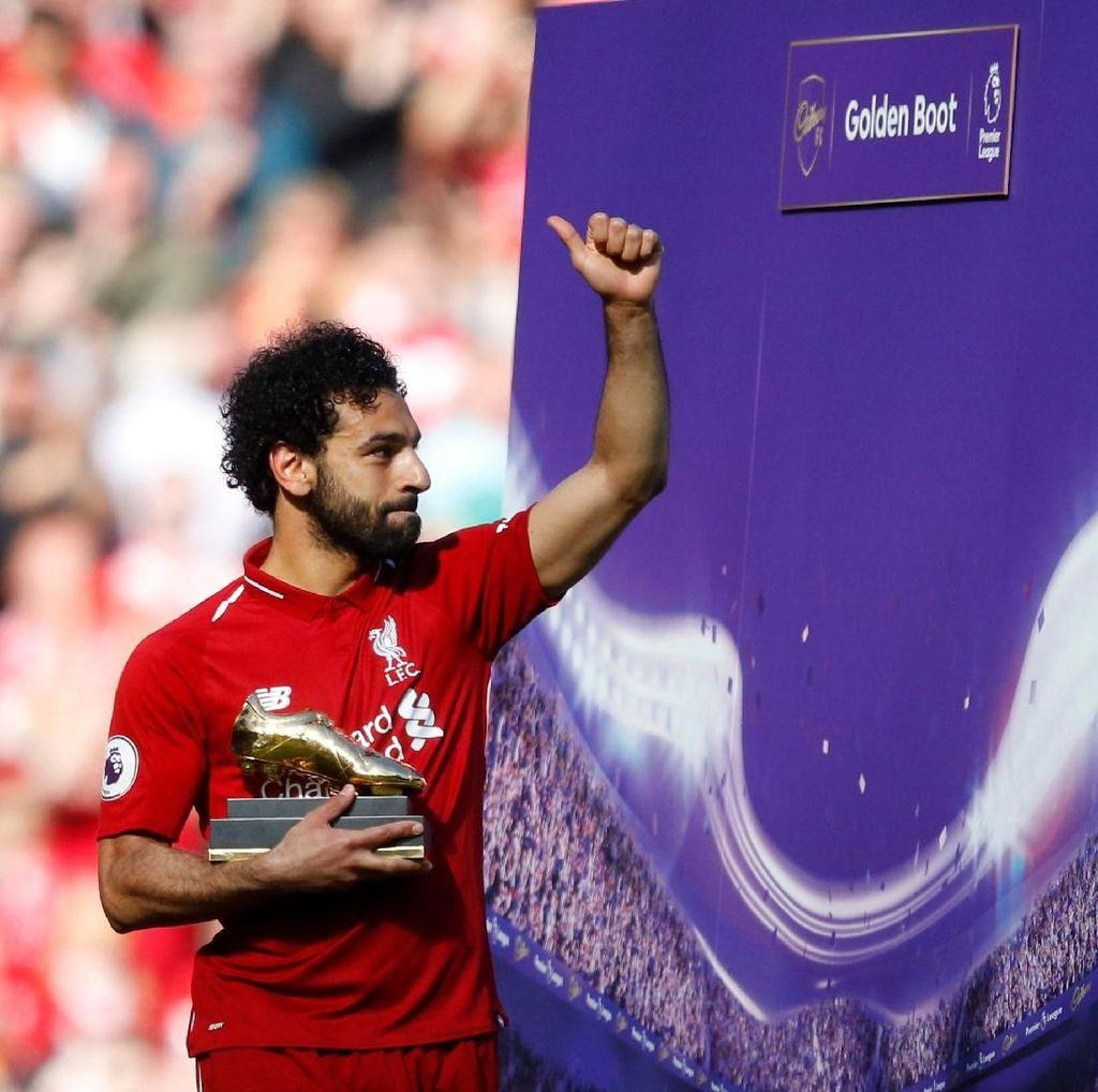 Mohamed Salah Belum Selevel Cristiano Ronaldo