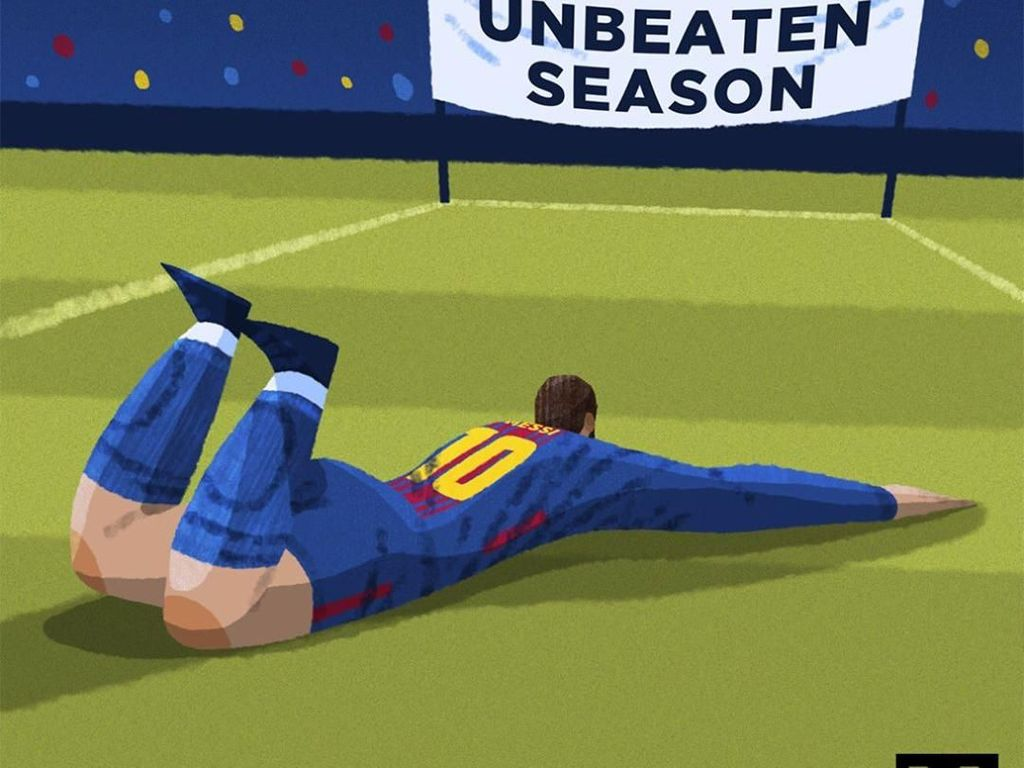 Kalah dan Gagal Invincible, Barcelona Di-Bully