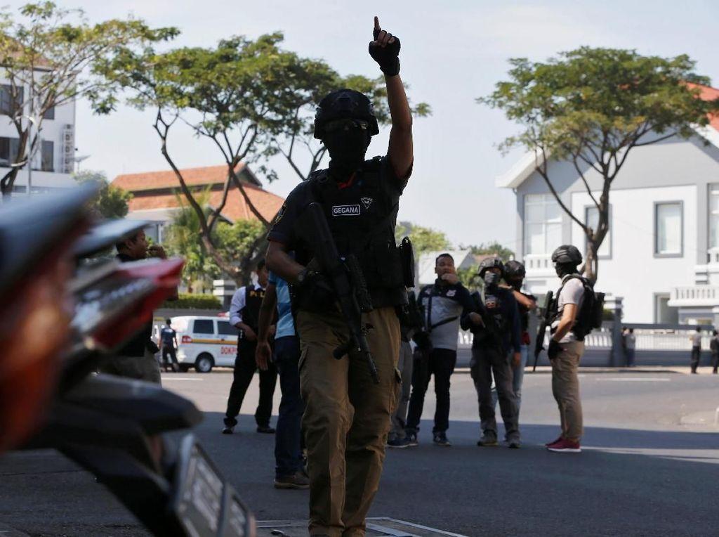 Polrestabes Surabaya Dibom, Penjagaan Diperketat