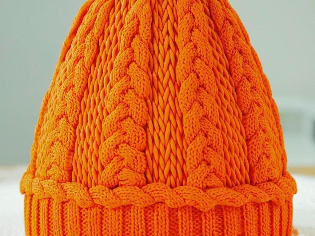 Keren! 10 Kue Buatan Yolanda Gampp, Mirip Hand Bag Kate Middleton hingga Topi Rajut!