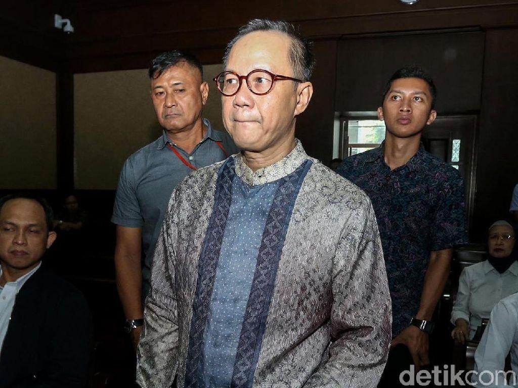 Sidang Perdana Eks Ketua BPPN Syafruddin Temenggung