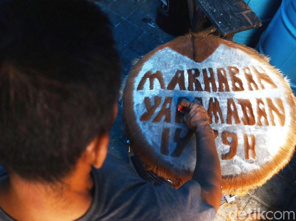 Jelang Ramadan Pedagang Bedug Panen Pesanan