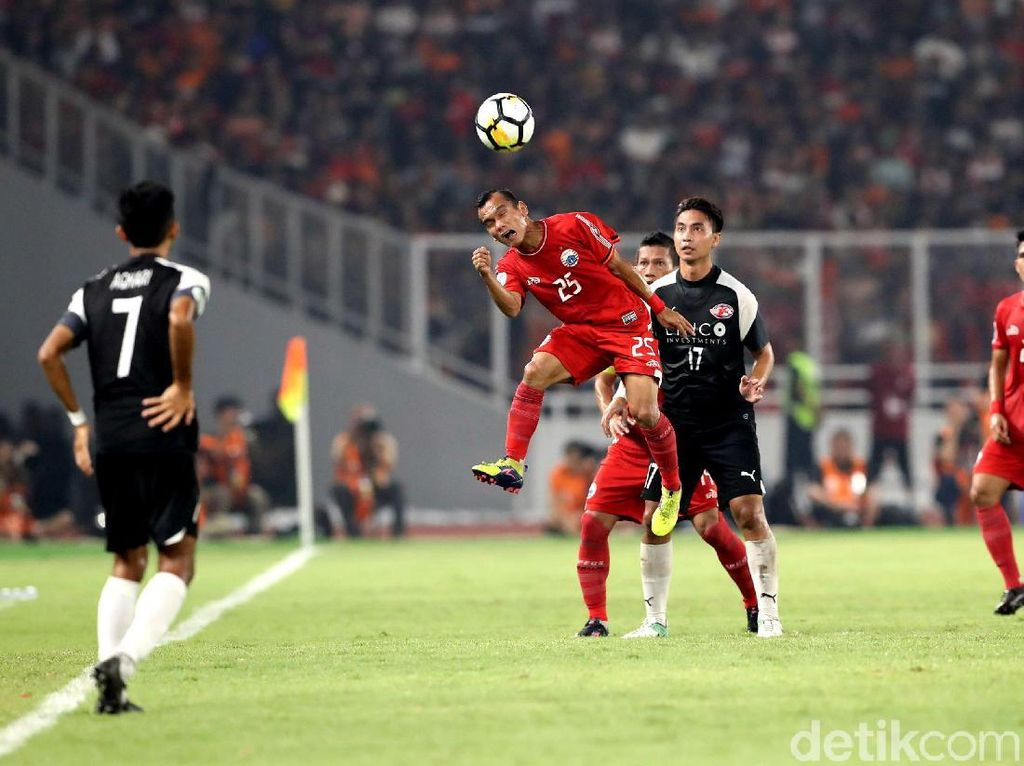 Dikalahkan Home United, Persija Gagal ke Final Piala AFC 2018