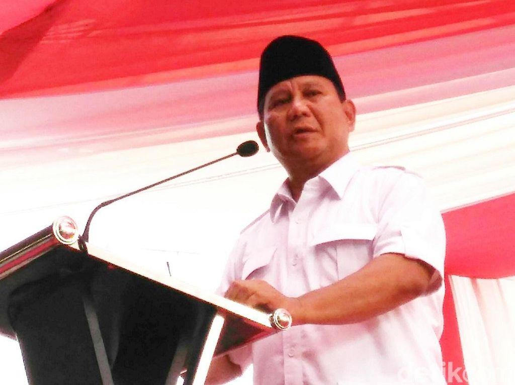 Prabowo: Kalau Diminta, Kader Gerindra Harus Mau Jaga Rumah Ibadah