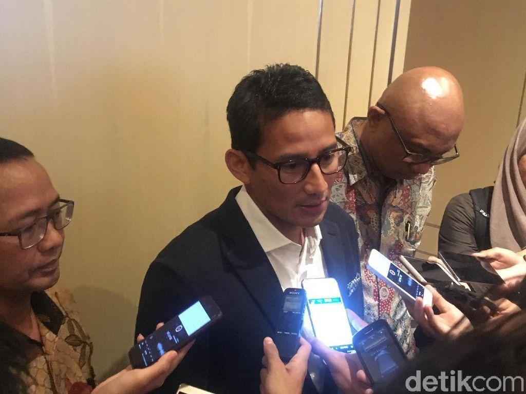 Sandiaga Harap MRT Bisa Sumbang 7.500 Lapangan Kerja