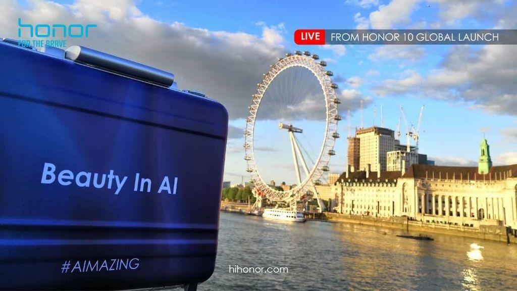Serunya Peluncuran Honor 10 di London