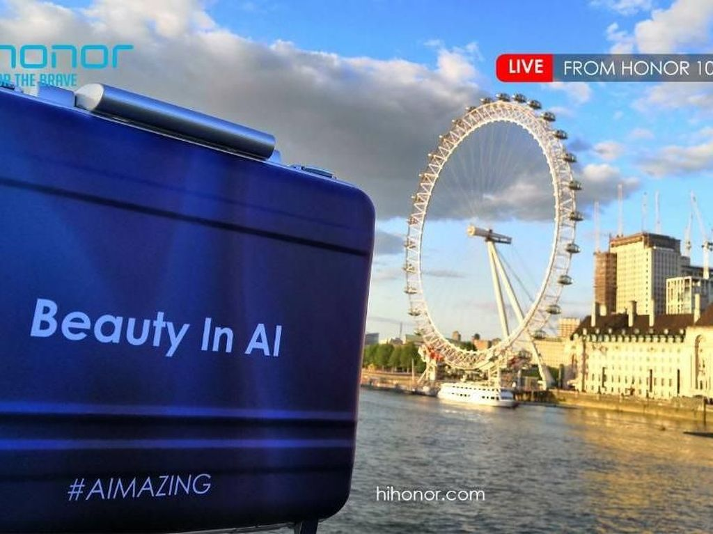 Serunya Peluncuran Honor 10 di London