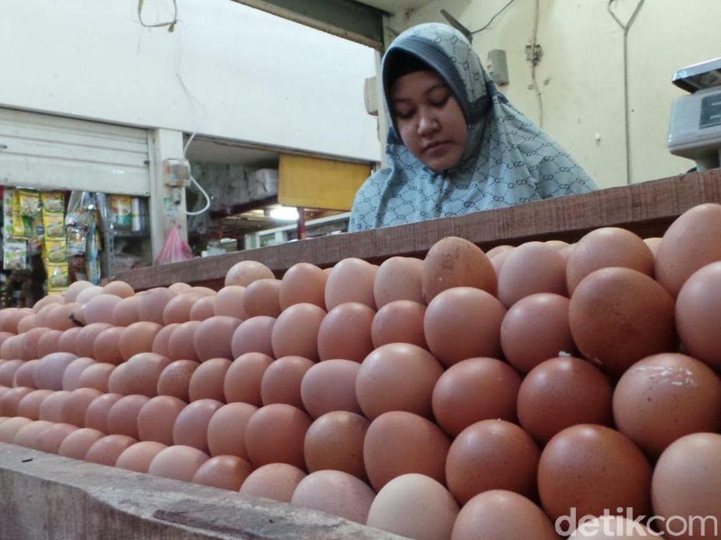 Memasuki Pancaroba, Harga Telur di Kota Bandung Anjlok