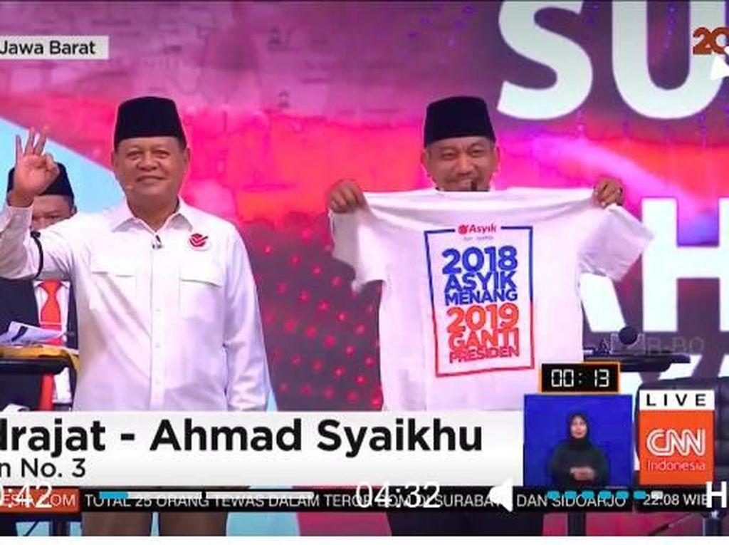 Tim Asyik Somasi KPU-Bawaslu Soal Kaus 2019 Ganti Presiden