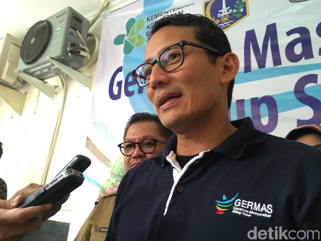 Sandi Jelaskan Proses Rene Suhardono Jadi Komut PT Jaya Ancol