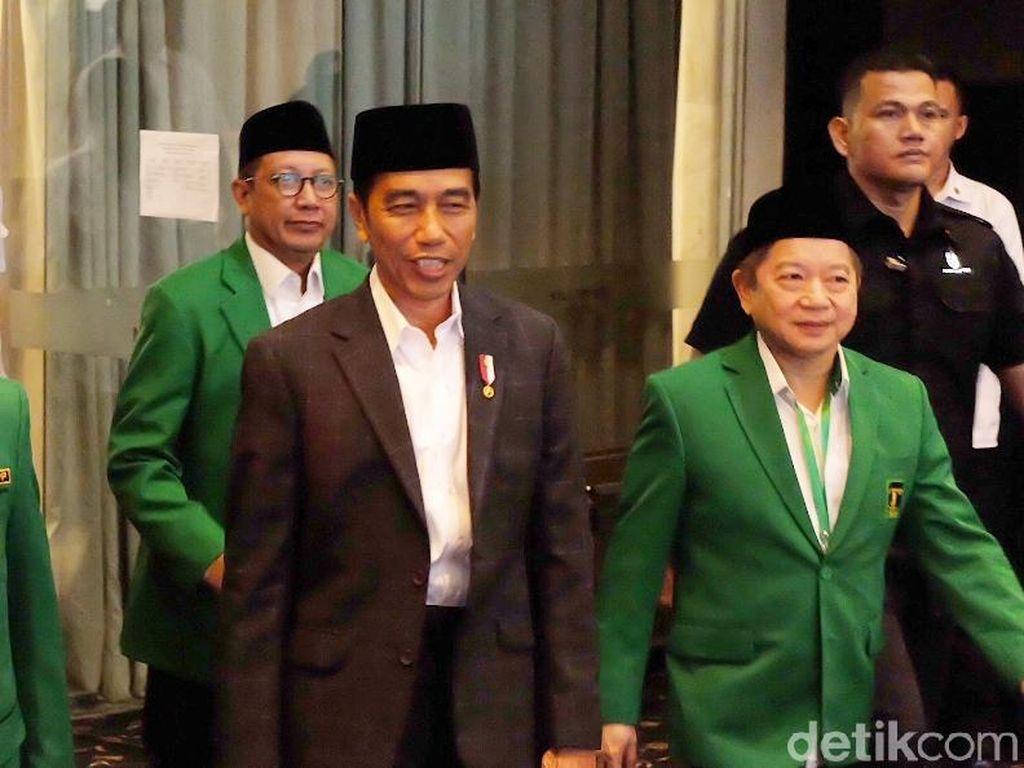 Pantun Kode PPP untuk Jokowi soal Cawapres