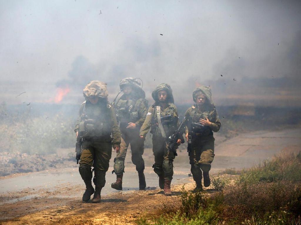 Tentara Israel Tembaki Demonstran Palestina di Gaza, 28 Terluka