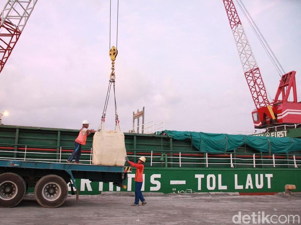Berjalan Sejak 2015, Begini Progres Tol Laut Jokowi