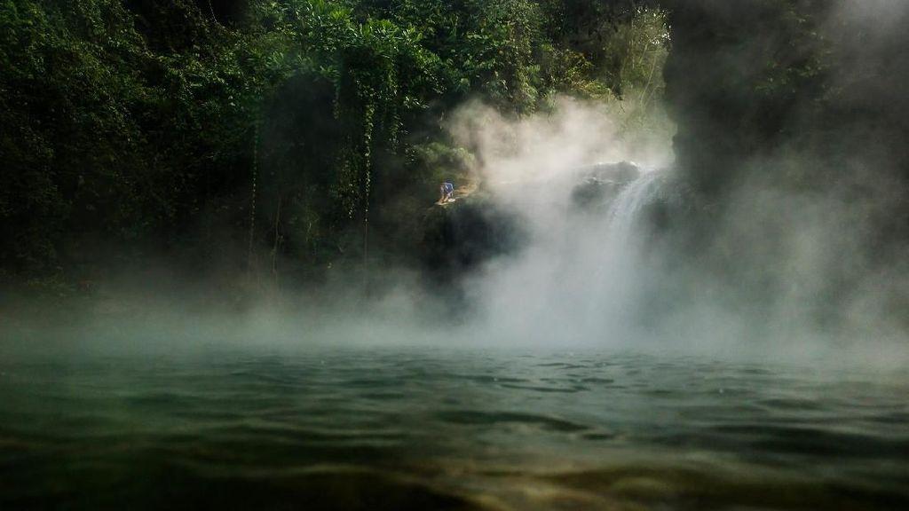 Foto: Sungai Mendidih di Amazon