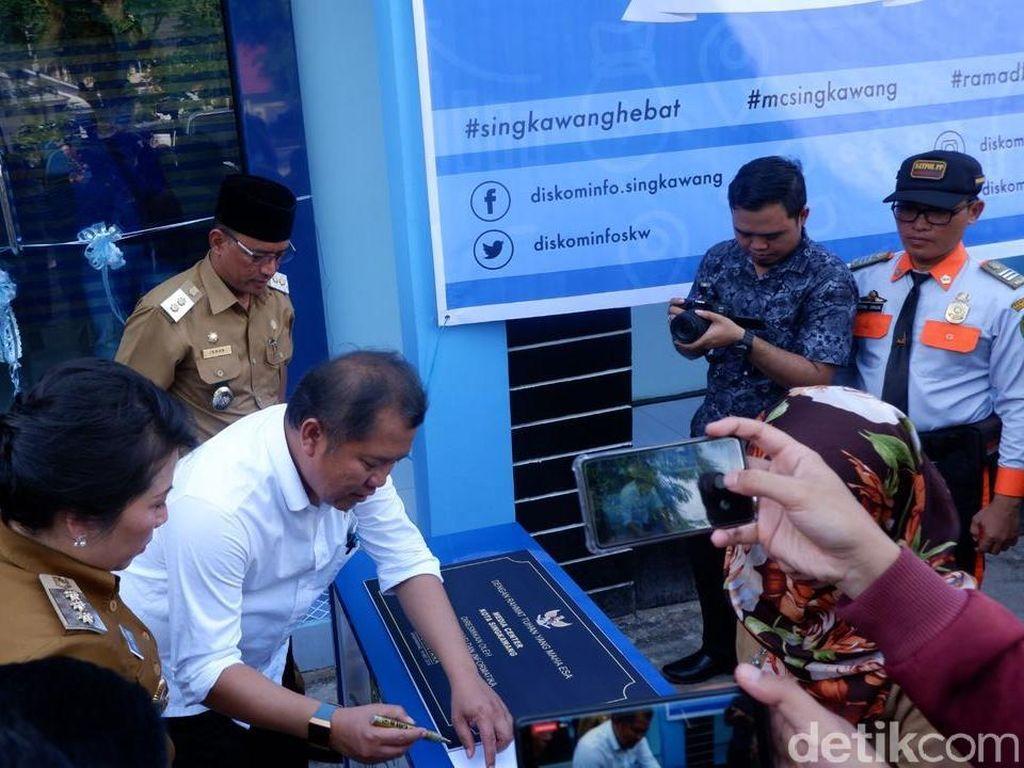 Menkominfo Resmikan Tongkrongan Blogger Vlogger Singkawang