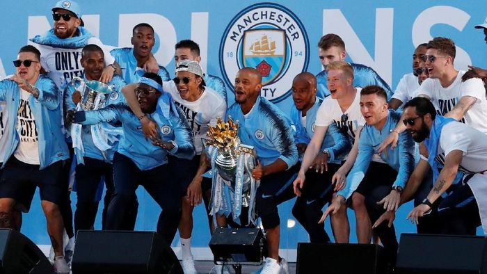 Manchester City berpotensi memulai dinasti di Premier League. (Foto: Andrew Boyers/Action Images via Reuters)