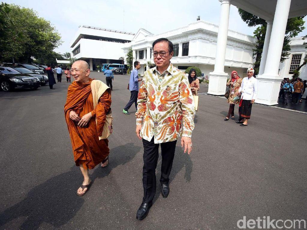 Foto: Pemuka Agama Temui Jokowi di Istana