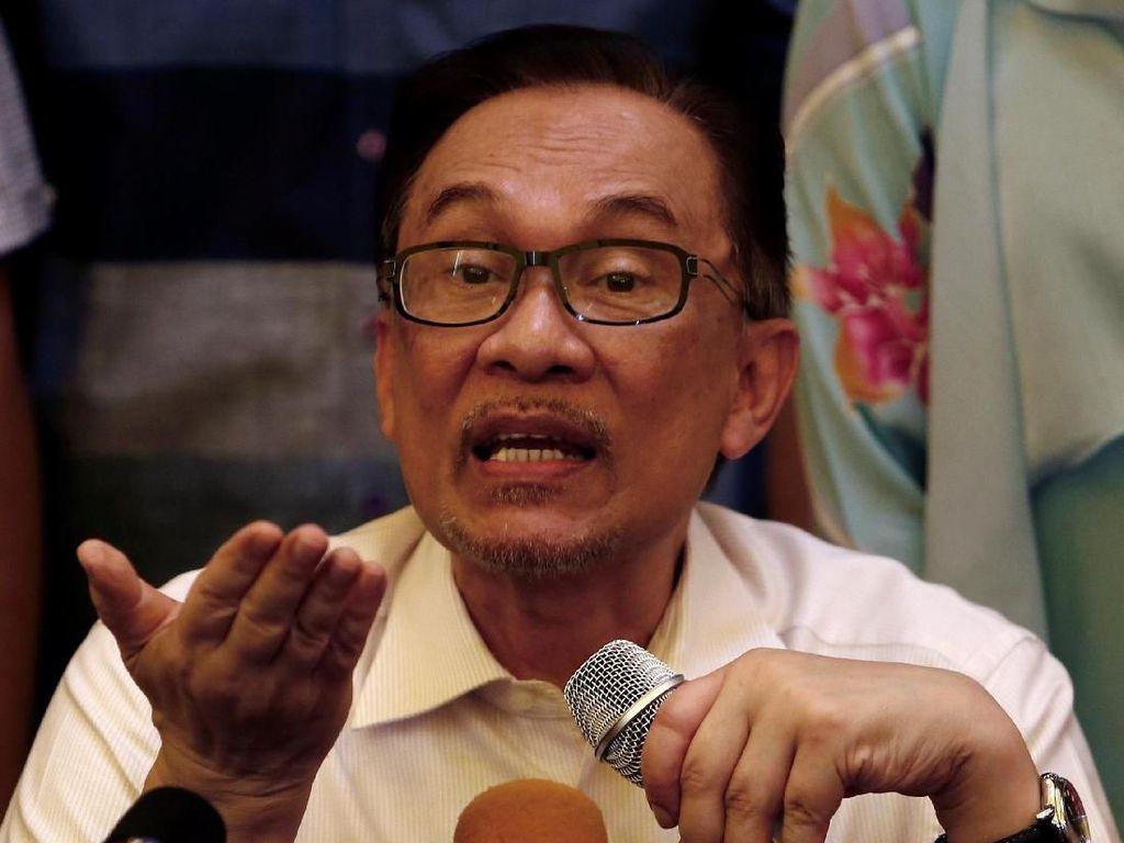 Bebas, Anwar Ibrahim Tak Ingin Terburu-buru Kembali ke Politik