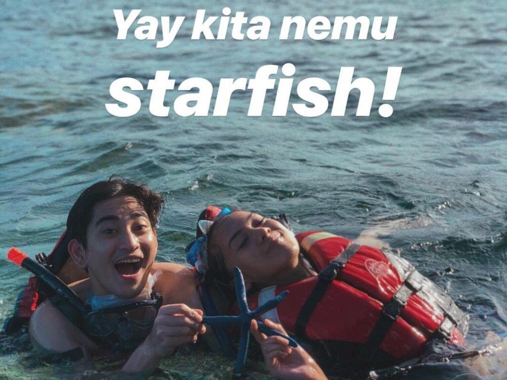 Duh! Anya Geraldine Kok Angkat-angkat Bintang Laut