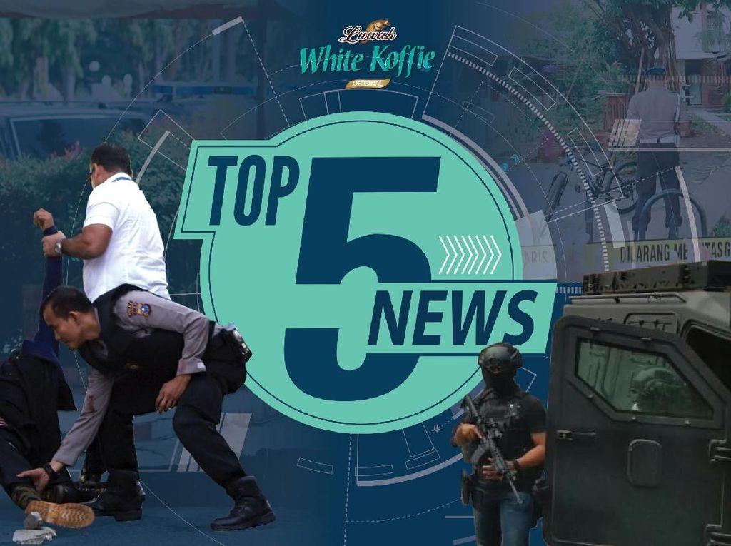 4 Teroris di Riau Didor, Terduga Teroris di Tangerang Diciduk