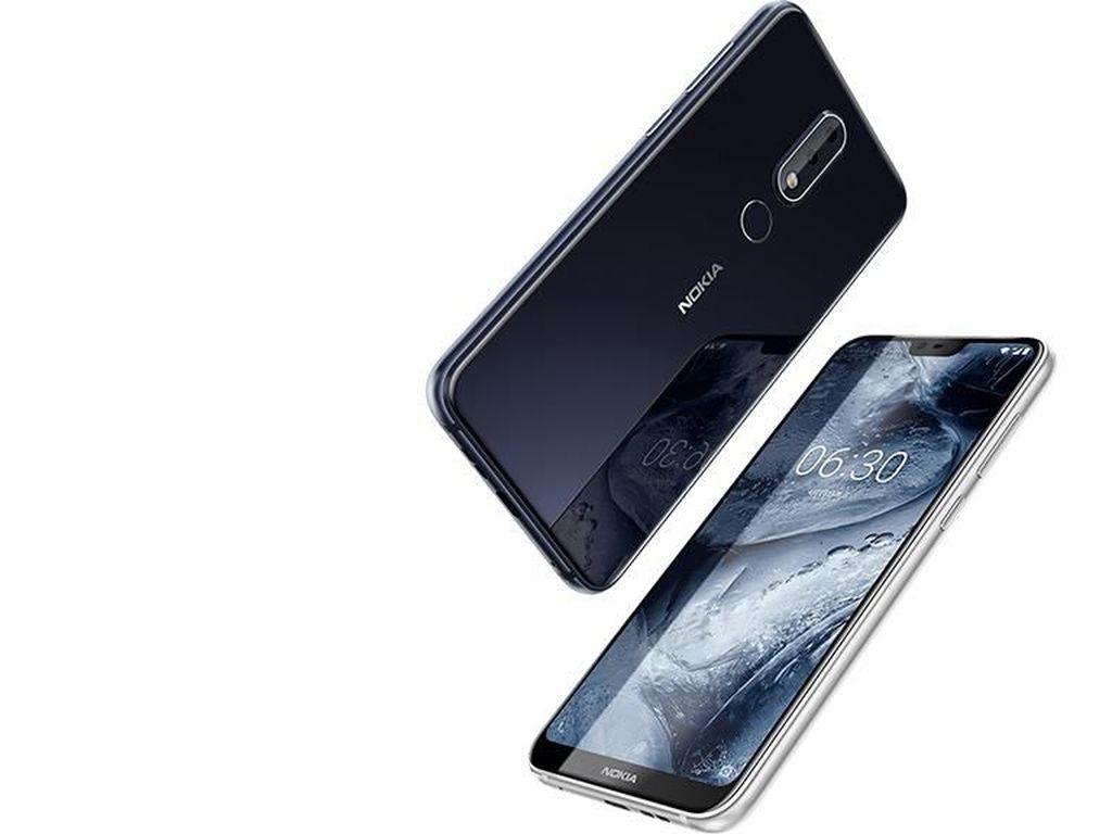 Nokia 6.1 Plus Mejeng di Situs Benchmark