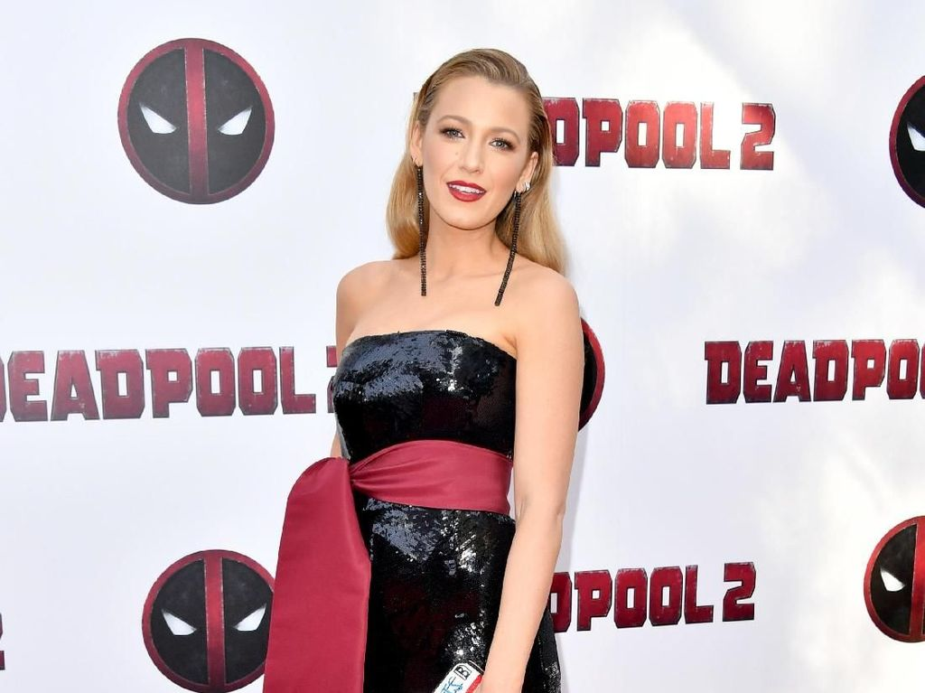 Intip Gaya Stylish Blake Lively di Premiere Film Deadpool 2